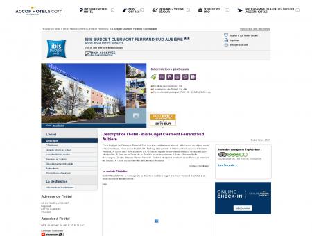 Hôtel à AUBIERE - ibis budget Clermont...
