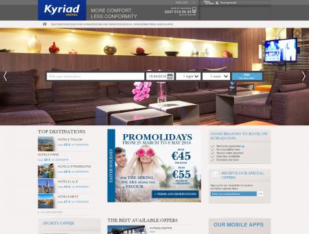 Hotel KYRIAD PARIS SUD - Arcueil Cachan - Kyriad Cachan ...