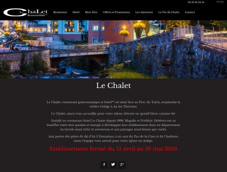 Hôtel Restaurant Gastronomique Le Chalet Ax...