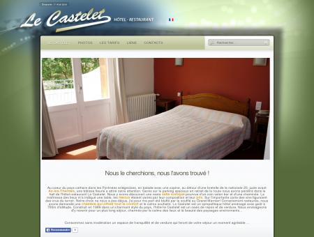 Le Castelet Hôtel Restaurant - Situé près d'Ax...