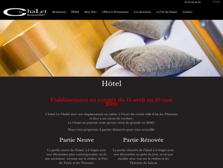 Le Chalet - Hôtel ** de charme à Ax les...