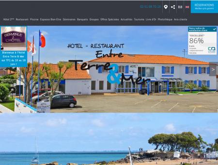 Hotel Beauvoir sur Mer restaurant - hotel...