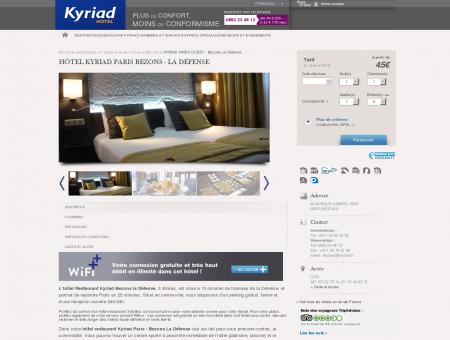 Hôtel à Paris Bezons - La Défense | Hotels Kyriad