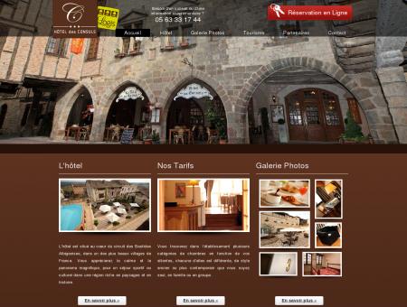 Hotel des consuls - 3 étoiles logis - Village...