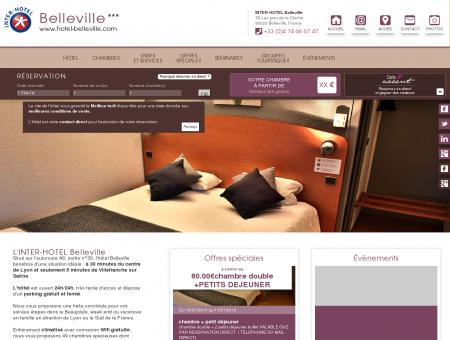 Hotel Belleville Hôtel autoroute A6 Rhône...