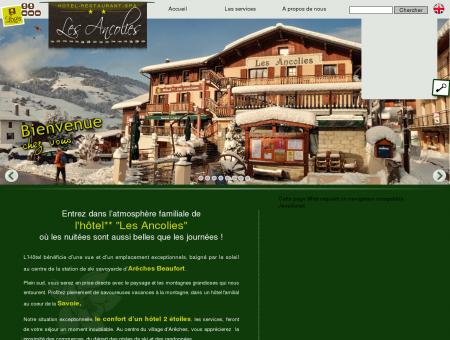 Arêches - Beaufort - Hotel** Les Ancolies -...