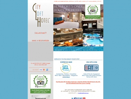 CITY LOFT HOTEL in the Historic District - Beaufort ...