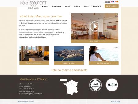 Hotel Saint-Malo vue mer : Le Beaufort *** |...