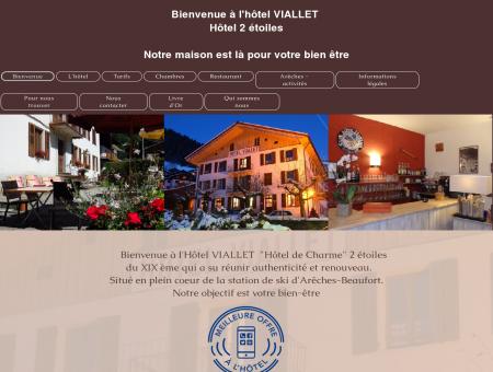 Hôtel Viallet à Arêches-Beaufort en Savoie