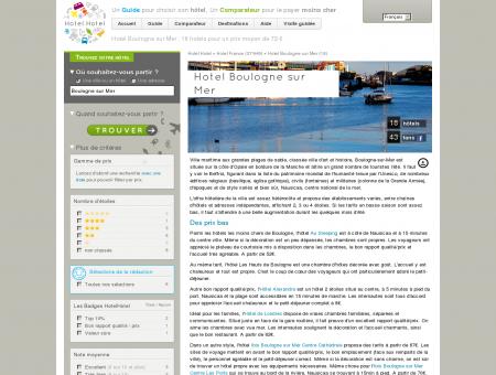 Hotel Boulogne sur Mer : 18 hotels pour un...