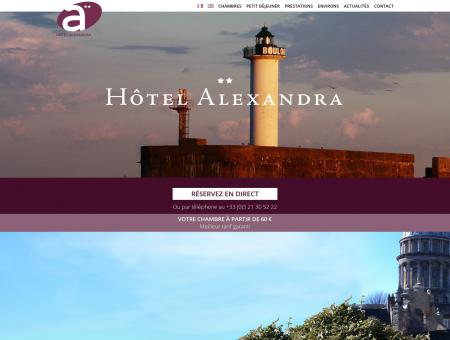 Hôtel Alexandra Boulogne sur mer - Hotel...