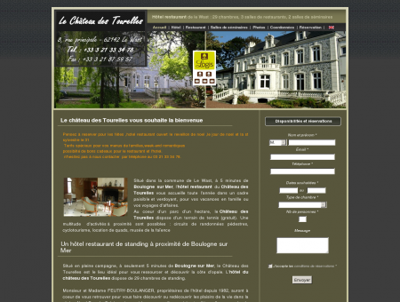 Le Château des Tourelles : hotel restaurant près...