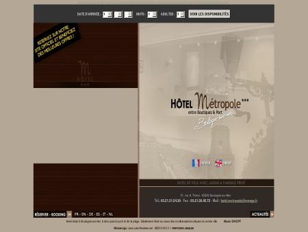 SITE OFFICIEL - Hotel Metropole - Boulogne...