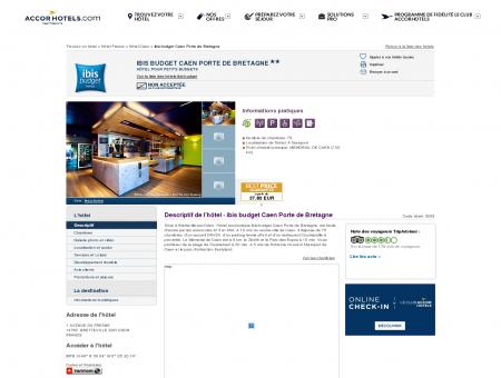Hôtel à BRETTEVILLE SUR ODON - ibis budget...