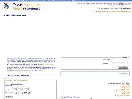 Plan Haute-Garonne (31) : plan gratuit Haute...