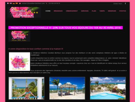 Home - Caraïbes Bonheur Hôtel ****