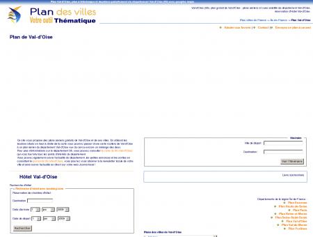 Plan Val-d'Oise (95) : plan gratuit Val-d'Oise à ...