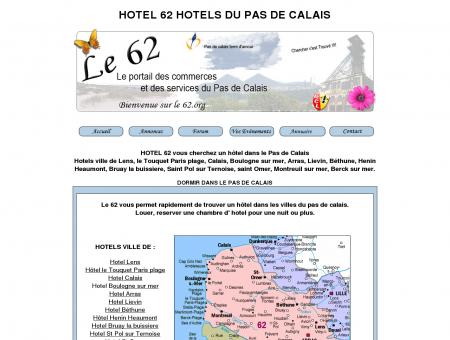 HOTEL 62 hotel du pas de calais HOTEL 62...