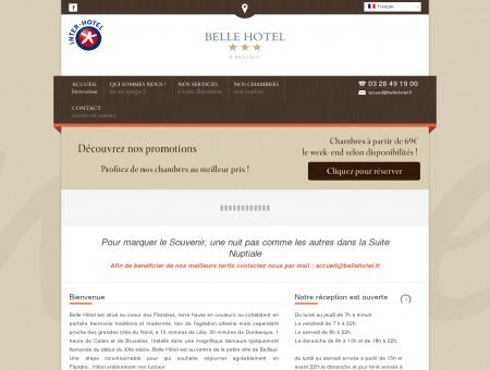 Belle Hotel Bailleul *** - Hotel proche...