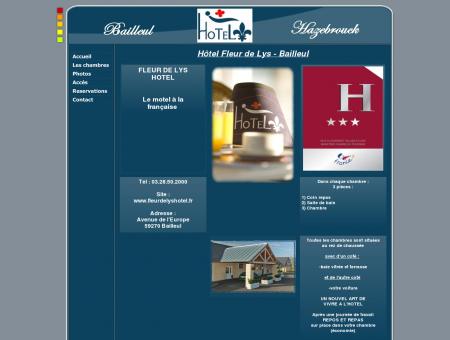 Fleur de Lys Hotel Hazebrouck - Bailleul - Le...
