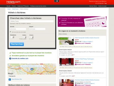 Hôtel à Achères - comparaison et réservation...