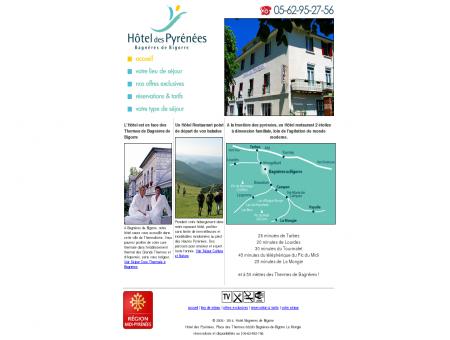 HOTEL DES PYRENEES - Hôtel Bagnères de...