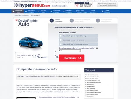Assurance auto, comparateur en ligne -...