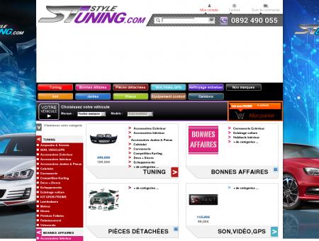 Tuning auto : pièces, accessoires, carrosserie,...