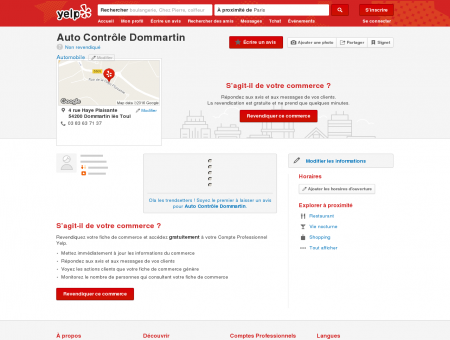 Auto Contrôle Dommartin - Automobile - 4...