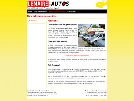 Lemaire Autos : Notre entreprise, Nos services