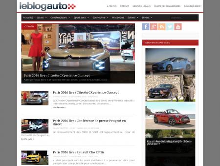 Le blog auto, toute l'automobile, tout le temps!