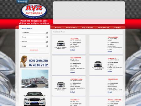 AVR Automobiles Vente de voitures et...