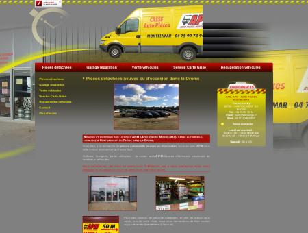 Casse auto 26 - SARL APM - AUTO PIECES...
