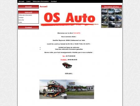 OS AUTO achat et vente de vehicules d'occasion