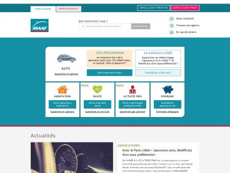 Assurance Auto MAAF - 2 mois gratuits sur votre assurance.