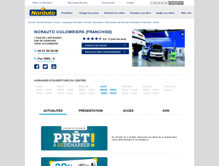 Norauto Colombiers (Franchise) - Centres auto...