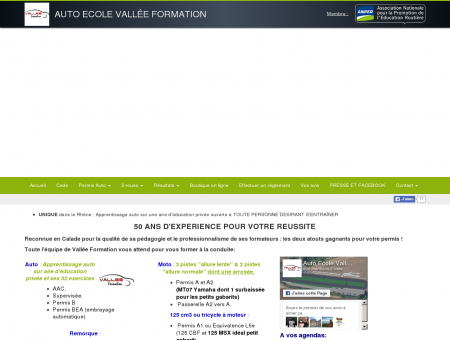 Accueil - Auto Ecole Vallée Formation à...