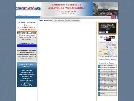 Contrôle Technique Viry-Châtillon Essonne