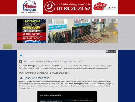 Lavage auto Viry-Châtillon | American Car Wash |