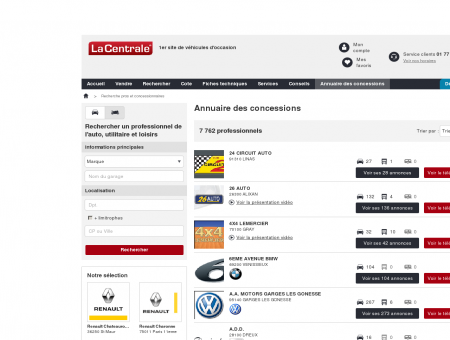 MG AUTOS : Voiture occasion VIRY...