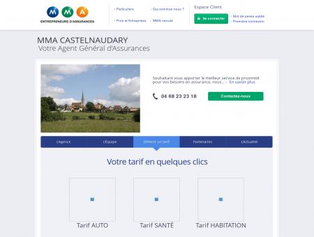 Assurances MMA - CASTELNAUDARY - MALE...
