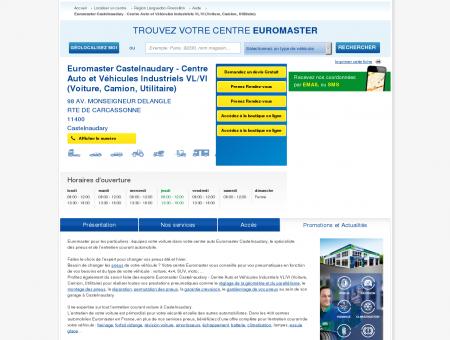 Centre auto EUROMASTER CASTELNAUDARY -...