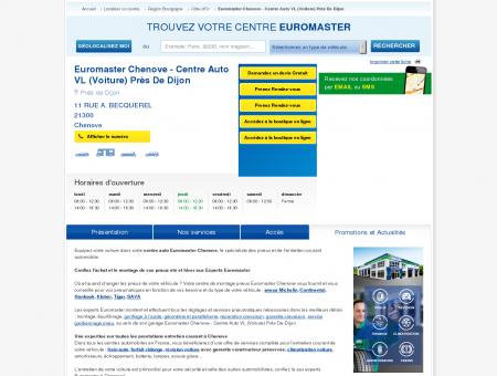 Centre auto EUROMASTER CHENOVE - centre...
