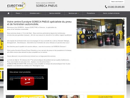 Eurotyre SORECA PNEUS - CHENOVE
