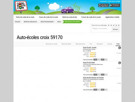 Auto-école CROIX (59170) :: Avis et...