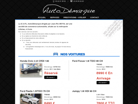Autodemarque.fr achat et vente de véhicules...