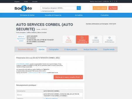 AUTO SERVICES CORBEIL (CORBEIL...