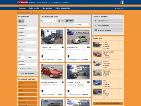 FORD CORBEIL : Concessionnaire FORD...