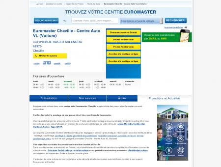 Centre auto EUROMASTER CHAVILLE - centre...