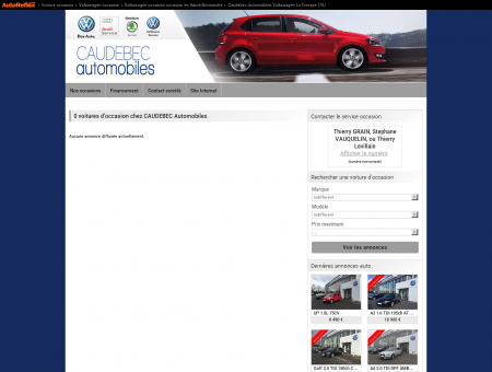 CAUDEBEC Automobiles VOLKSWAGEN LA...